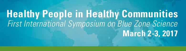 Healthy People in Healthy Communities