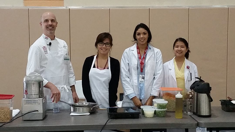 LLUSPH Puts on San Manuel Health Fair
