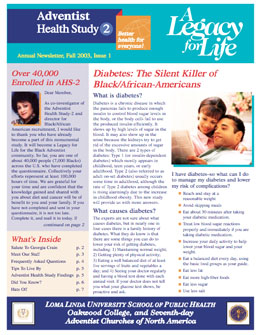 2003 (Black/African American) Newsletter (PDF)
