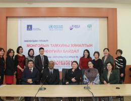 Dr. Pramil Singh meets with World Health Organization in Mongolia