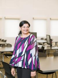 Sujatha Rajaram, PhD MS and PhD plant-based nutrition faculty
