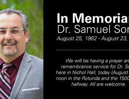 In Memoriam: Dr. Samuel Soret